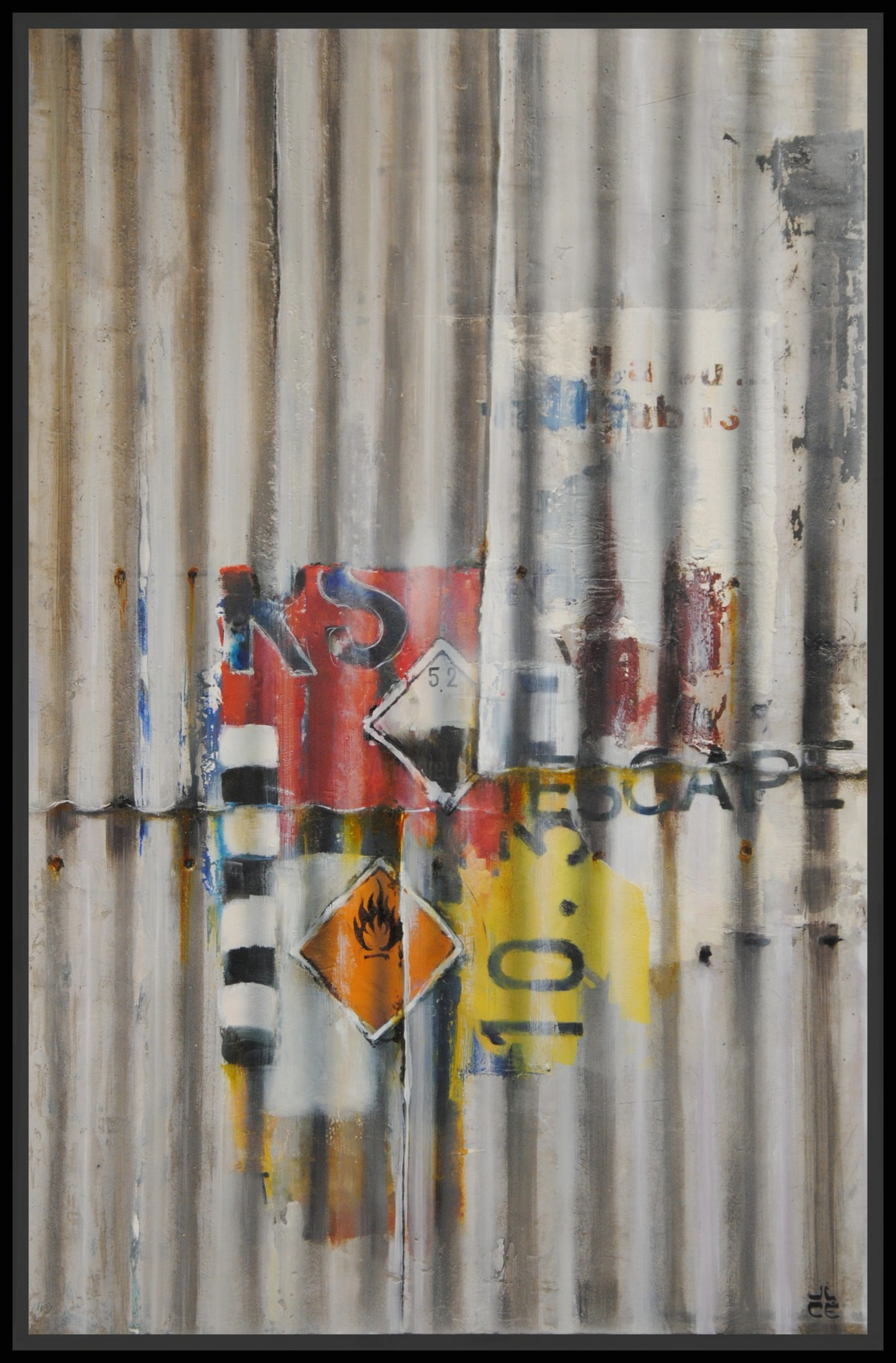 Jicé - Rust Art